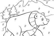 Πολικά ζώα-χειμερία νάρκη!