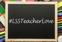 #LSSTeacherLove / To celebrate Teacher Appreciation Week 2015, students shared photos and messages thanking their teachers. These photos were posted on various social media platforms using #LSSTeacherLove.  / by Laurel Springs School