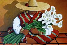 SPANISH STYLE FINE ART / Spanish style art by Arizona Contemporary artist Lance Headlee. Original contemporary paintings available at http://lanceheadlee.com