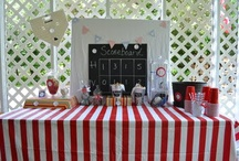 baseball party ideas / by Jennifer Leiker