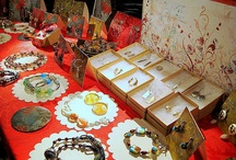 Art show set-ups and craft show displays. BOOM!