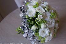 Jacqui O Bridesmaid flowers