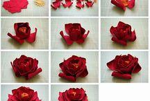 Fleurs en papier 2