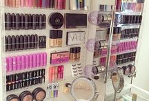 Organisering av sminke
