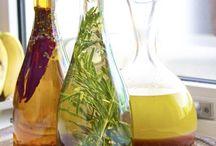 Herbs Oils Vinegars Spices Taste Food Love Happines