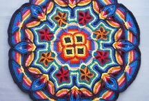 """Crochet - Overlay / For many more gorgeous patterns, please go to my board """"Doilies, Mandalas (RIP Wink xx) & Tablecloths (knit and crochet)"""". Help yourself!"""