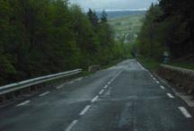 Route de Mende un jour de pluie, mai 2012