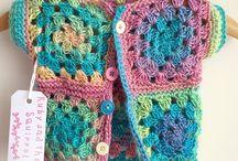 crochet modelo criança
