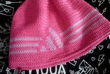 Čepice/Crocheted caps - moje práce / moje ruční práce