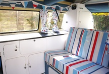 Camper interiors / Ideas for when we get this far!