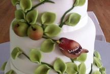 Cakes, marcipan