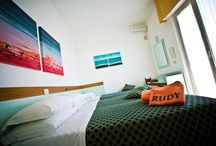 Our Rooms / Our 26 soundproof  #rooms are comfortable and fully renovated. Enjoy your holiday in #Cervia!
