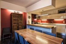 Restored Medieval house in Orvieto / Tufo townhouse with contemporary interiors