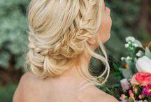 esküvő - haj
