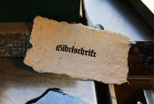 Bibelschrift Bleisatz / Bleisatz Letterpress Buchdruck handwerk und technik.