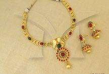 Anitque Necklace Sets / Antique Necklaces | Antique Jewellery Necklace Set | Antique Jewellery Necklaces |Antique Necklace Designs | Antique Necklace Set