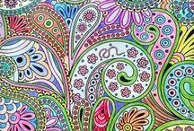 Floresta Mágica - Livro de Colorir