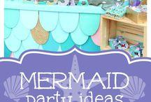 Mermaid Party| Inspiration| Deko|Rezepte