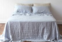 Montauk Pure Linen Flat Sheets / 100% Pure Linen Flat Sheets by Montauk Style