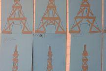 Wieża wyklejana