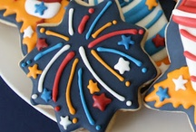 fireworks cookies / by Rosa M Fernández
