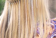 Hair styles I LOVE..... / and might possibly get the courage to try one day....I love the idea of handmade bohemian accessories