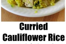 Healthy Cauliflower Recipes / Healthy Cauliflower Recipes that are low-carb, gluten-free and easy - all in one place! Cauliflower rice, cauliflower wings, mashed cauliflower, cauliflower pizza crust and SO MUCH MORE!