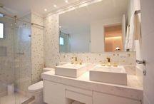 Banheiros moderno