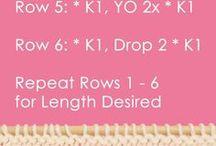 Drop stitch