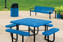 Commercial Square Picnic Tables