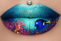 lip art♡♡