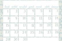 Calendari 2018 / Free 2018 printable Calendars
