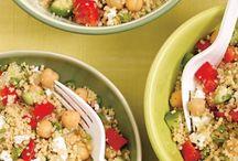 Salade de couscous / Salade couscous aux légumes