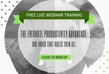 Evernote Trainings / Webinar and in person training announcements. Learn about Evernote from Evernote Expert Stacey Harmon.