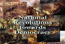 National Revolutions towards Democracy (old book cover)