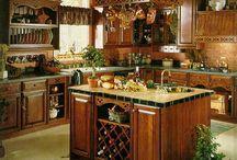 Kitchen Inspiration / Kitchen inspiration, dream kitchen, kitchen details... it's all about kitchen! / by Marie Paul