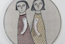 Stories/autobiography in fibre and stiches