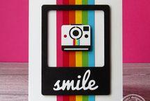 SugarCuts - Polaroid Journal Card / SugarPea Designs:  SugarCuts - Polaroid Journal Card die inspiration board