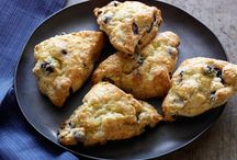 scones and breakfast pastry