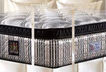Gefederte-Matratzen-für-Boxspringbetten / Bockspringbett-Matratze Kingsdown Hausmarke in Komfortqualität. Diese Matratzen finden Sie in den besten Hotels in Südeuropa