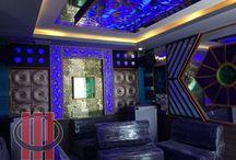 Công trình thi công phòng karaoke Thanh Huyền Long Thanh