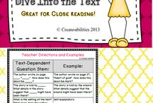 Reading Focus Lessons / by Quest Teaching