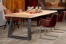 Vintage Tafels & Stoelen. / Prachtige tafels & stoelen.