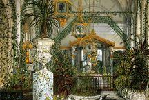 Glasshouses, winter gardens = Оранжереи, зимние сады
