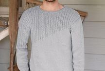 Men's knitting jumpers pattern
