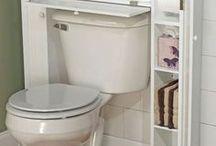 Idei pentru depozitare în baie