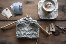 Getting Creative - Knitting, tricot / Knitting.  If there's a zombie apocalypse, I will be able to knit. lol.  Paterns, ideas, techniques, just beautiful knits, all kind of creativity using yarn. Tricot.  Une maille à l'endroit, une maille à l'envers.  Des petits projets créatifs que l'on peut apporter partout avec soi.  Que ce soit du tricot, du crochet, des idées ou tout simplement de belles réalisations. / by Sophie Massé