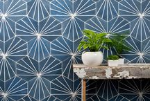 Cement and Encaustic Tile / Mission Stone and Tile is adding to its collection of patterned and colorful tile
