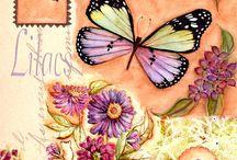 pillangók, cicák, kutyák....papirok