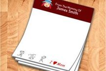 Mommy notepads